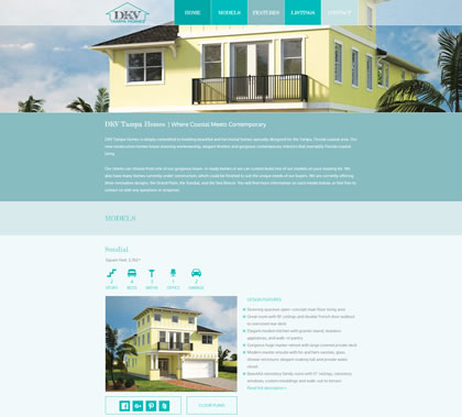 DKV Tampa Homes Homepage