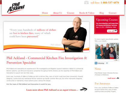 Phil Ackland and Associates Homepage